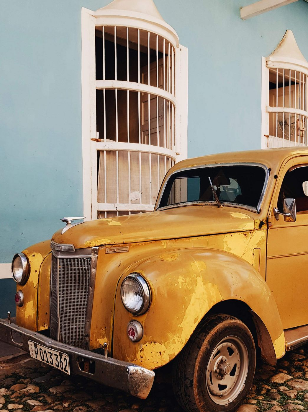 Oldtimer in Trinidad auf Cuba Rundreise mit ITS Coop Travel
