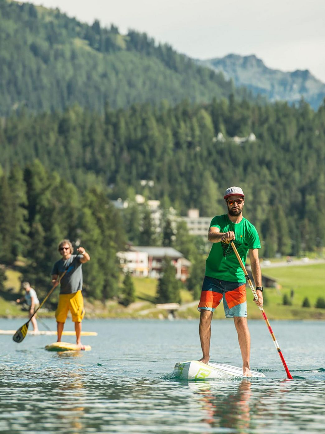 Stand Up Paddle Davos