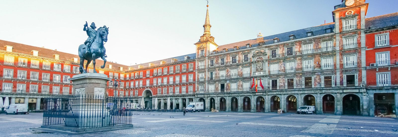 Madrid Spanien Plaza Mayor