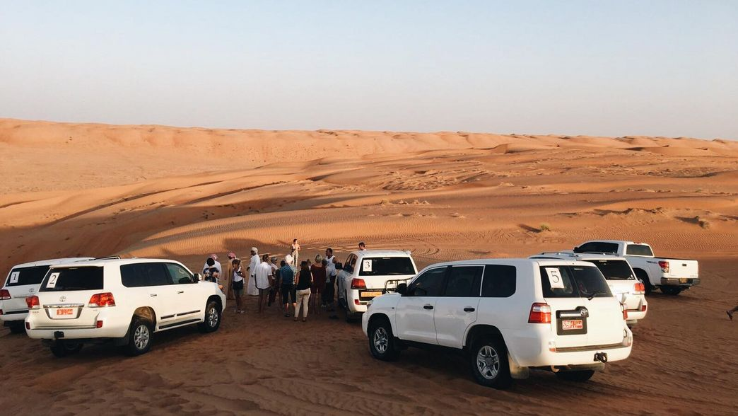 Wuesten Safari in den Wahiba Sands im Oman
