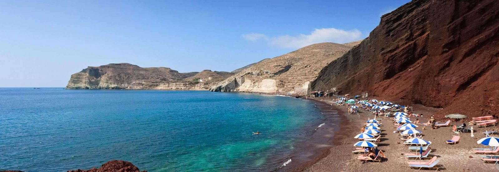 Santorini Griechenland Roter Strand