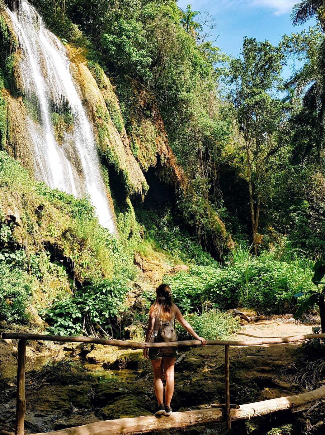 Wasserfall in Topes de Collantes Cuba mit ITS Coop Travel