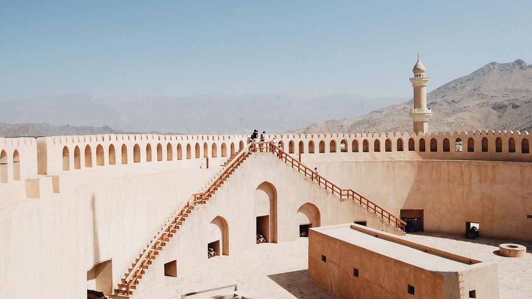 Fort Nizwa im Oman mit ITS Coop Travel