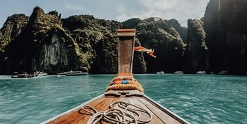 Longtail Boot Khao Lak Thailand Phi Phi Islands