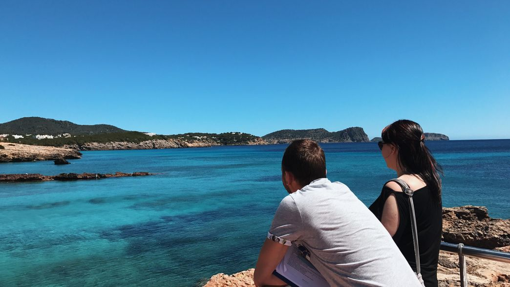 Ibiza ITS Coop Travel Aussicht aufs Meer