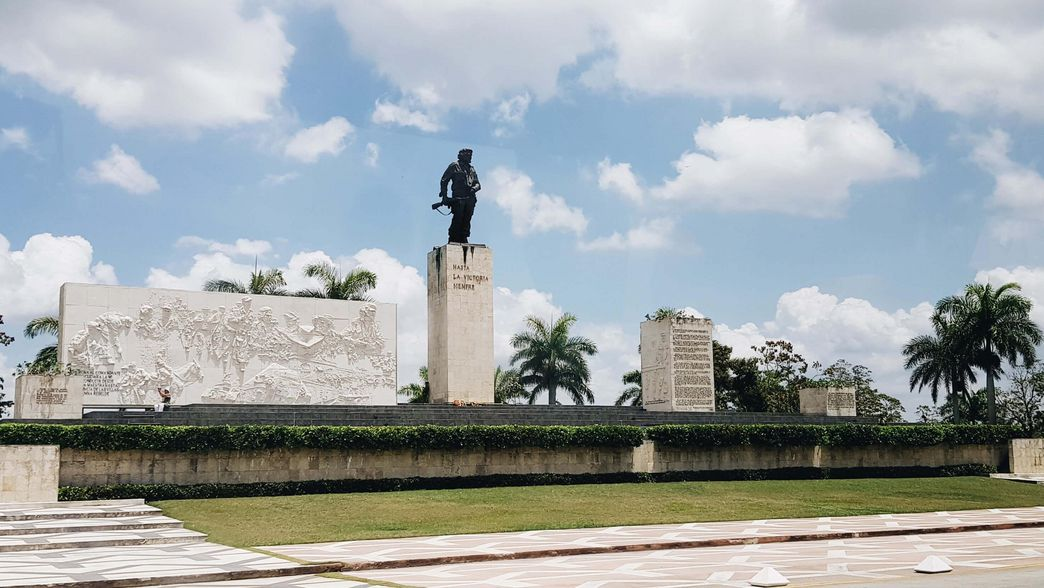 Santa Clara Nationales Denkmal Che Guevara Cuba mit ITS Coop Travel