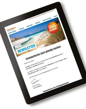 Newsletter ITS Coop Travel abonnieren