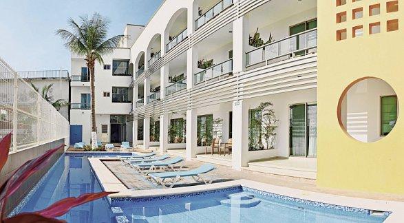 Hotel Casa Melissa, Mexiko, Cancun, Playa del Carmen, Bild 1