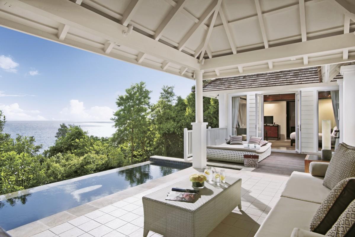 Hotel Banyan Tree Seychelles, Seychellen, Anse Intendance, Bild 1