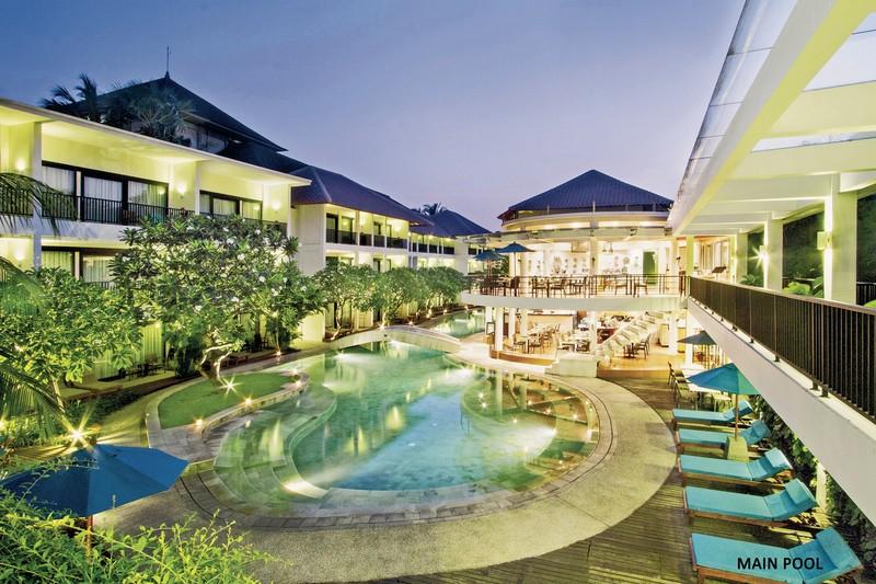 Hotel The Camaklia Legian Beach, Indonesien, Bali, Kuta, Bild 1
