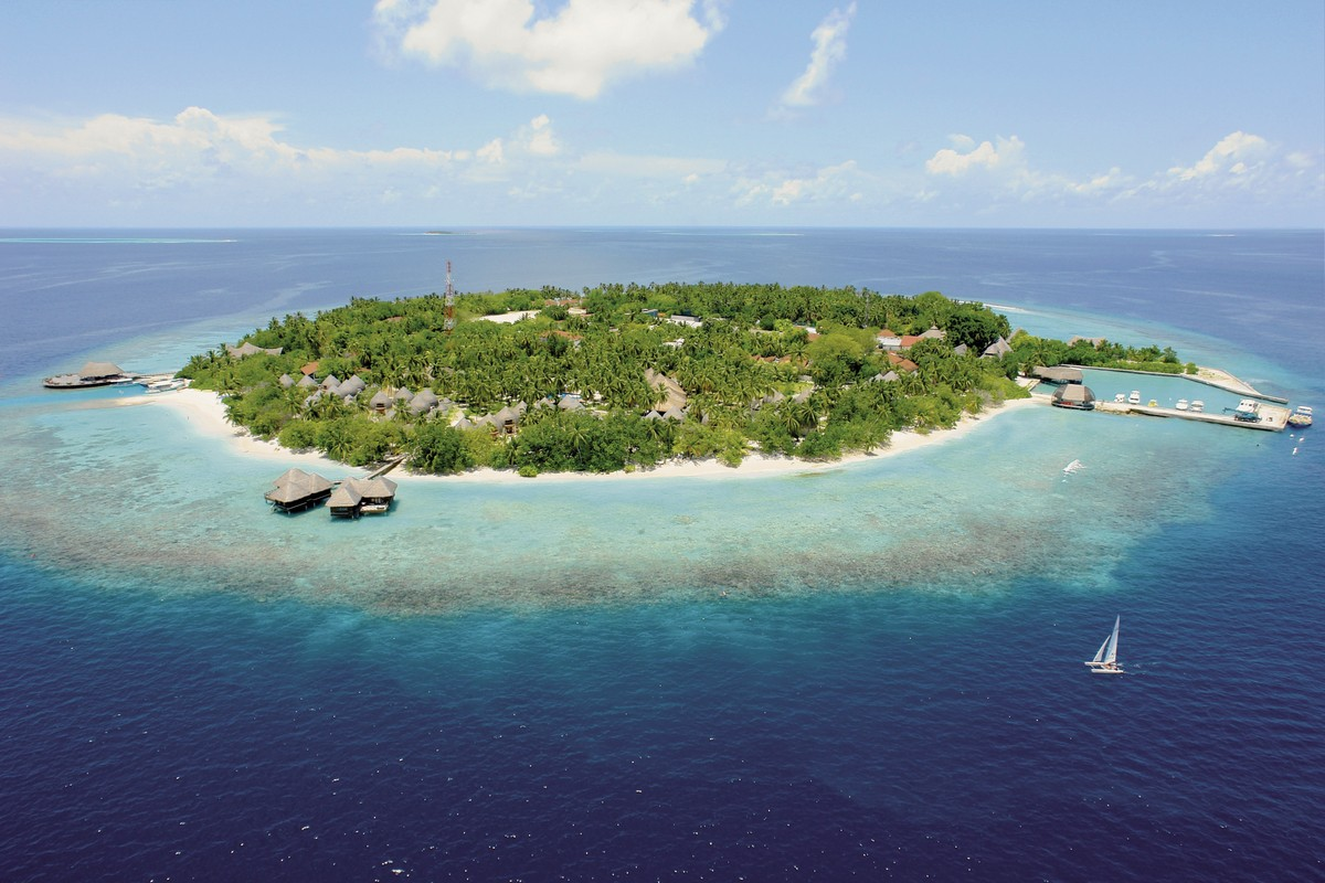 Hotel Bandos Island Resort, Malediven, Nord-Male-Atoll, Bild 1