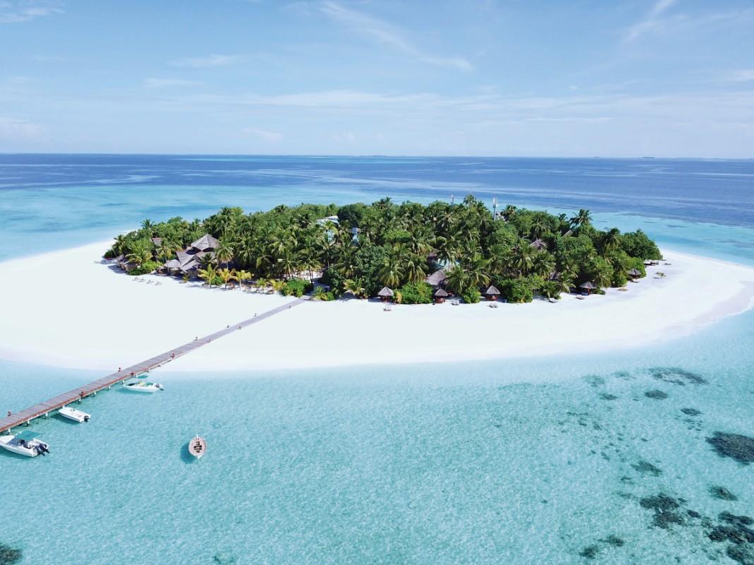 Hotel Banyan Tree Vabbinfaru, Malediven, Nord Male Atoll, Bild 1