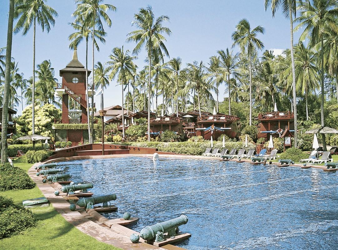Hotel Imperial Boat House, Thailand, Koh Samui, Choeng Mon Beach, Bild 1
