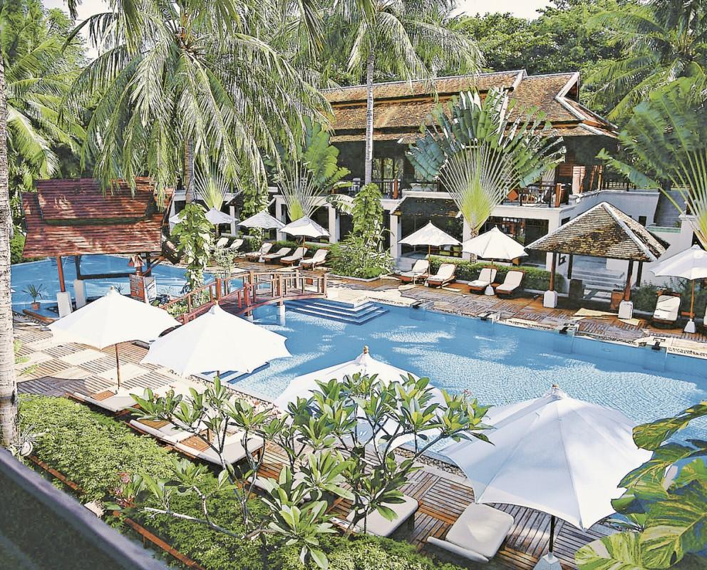 Hotel Chaweng Regent Beach Resort, Thailand, Koh Samui, Chaweng Beach, Bild 1
