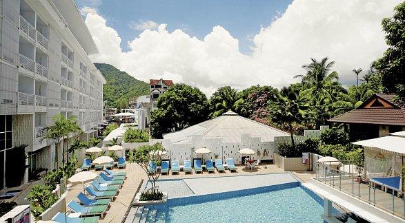 Peach Hill Hotel & Bungalows, Thailand, Phuket, Kata Beach, Bild 1