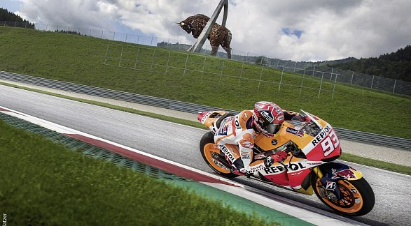 MotoGP Spielberg, Österreich, Murau, Bild 1