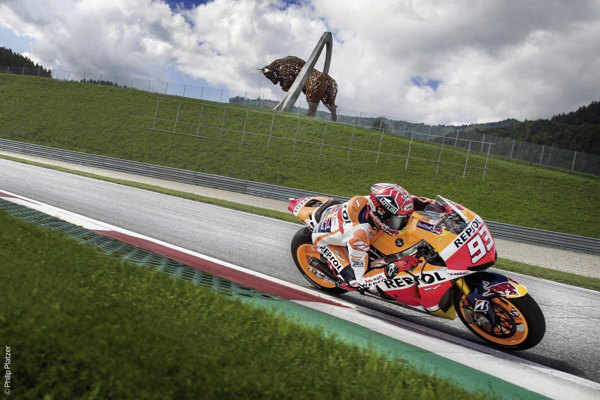 MotoGP Spielberg, Österreich, Steinmark, Murau