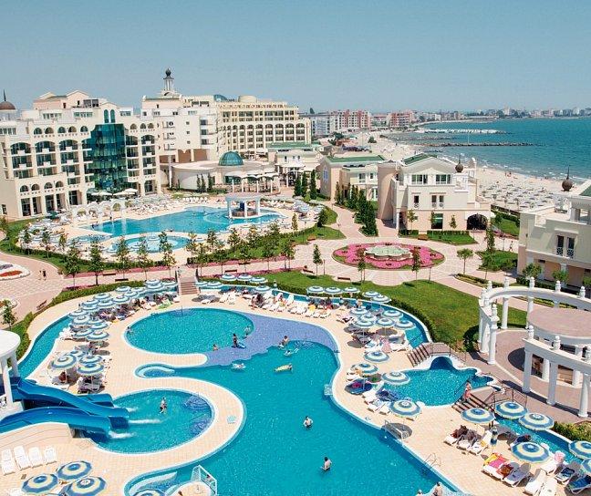 Hotel Sunset Resort - Alpha / Beta / Sigma / Delta I / Delta II / Eta / Villen, Bulgarien, Burgas, Pomorie, Bild 1