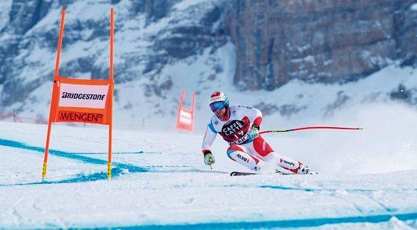 91. Lauberhorn-Rennen von Wengen, Schweiz, Berner Oberland, Wengen, Bild 1