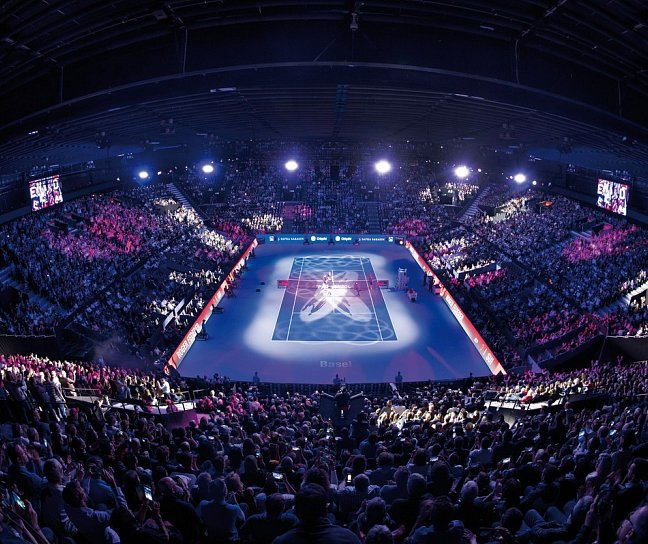 Swiss Indoors Finalspiele / Hotel Pullmann Basel Europe, Schweiz, Basel, Bild 1