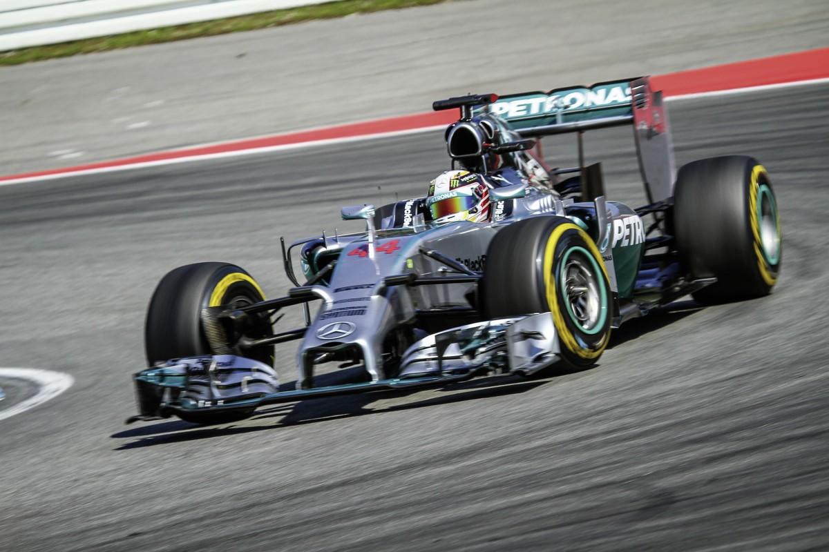 Formel 1 Barcelona, Spanien, Barcelona