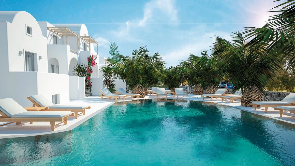 Hotel Strogili, Griechenland, Santorini, Kamari, Bild 1