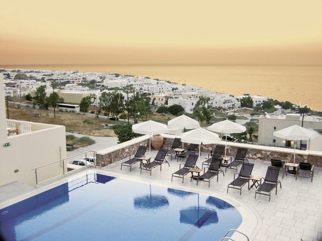 Hotel Epavlis, Griechenland, Santorini, Kamari, Bild 1