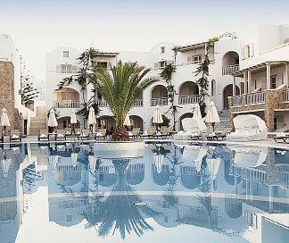 Hotel Aegean Plaza, Griechenland, Santorini, Kamari, Bild 1