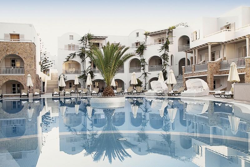 Hotel Aegean Plaza, Griechenland, Santorin, Kamari