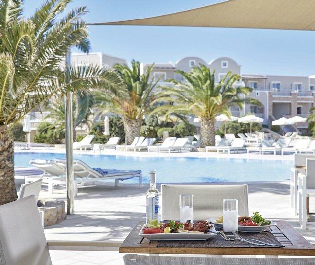 Hotel Santo Miramare Resort, Griechenland, Santorini, Perissa, Bild 1
