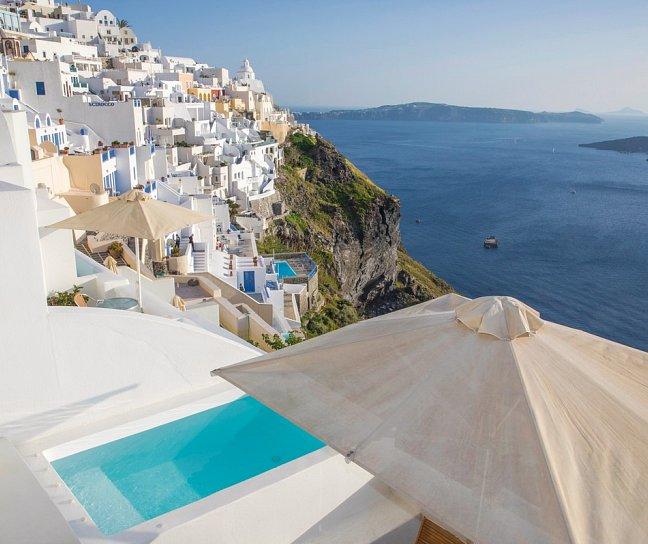 Hotel Panorama Studios, Griechenland, Santorini, Fira, Bild 1