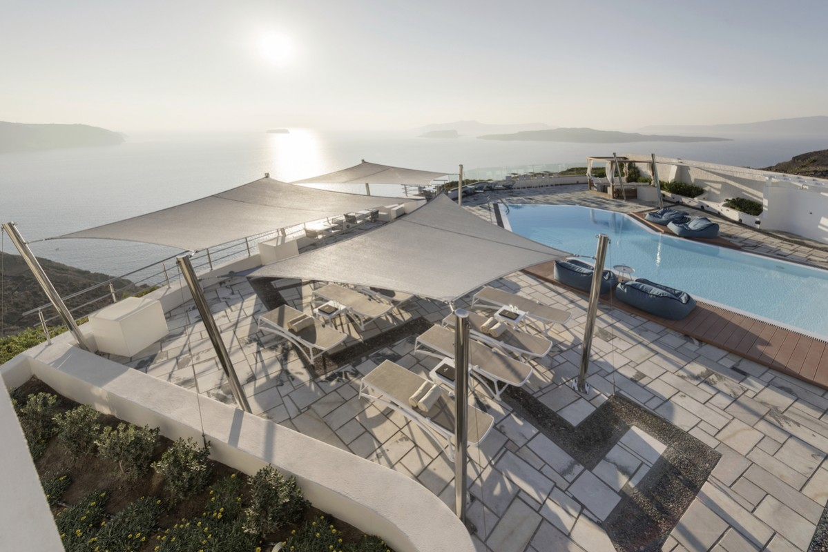 Hotel Caldera's Dolphin, Griechenland, Santorin, Megalochori, Bild 1