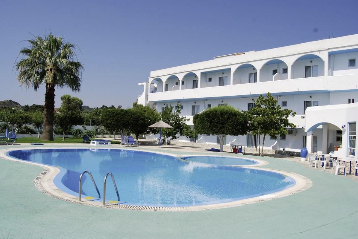 Hotel Manos Pension, Griechenland, Rhodos, Faliraki, Bild 1