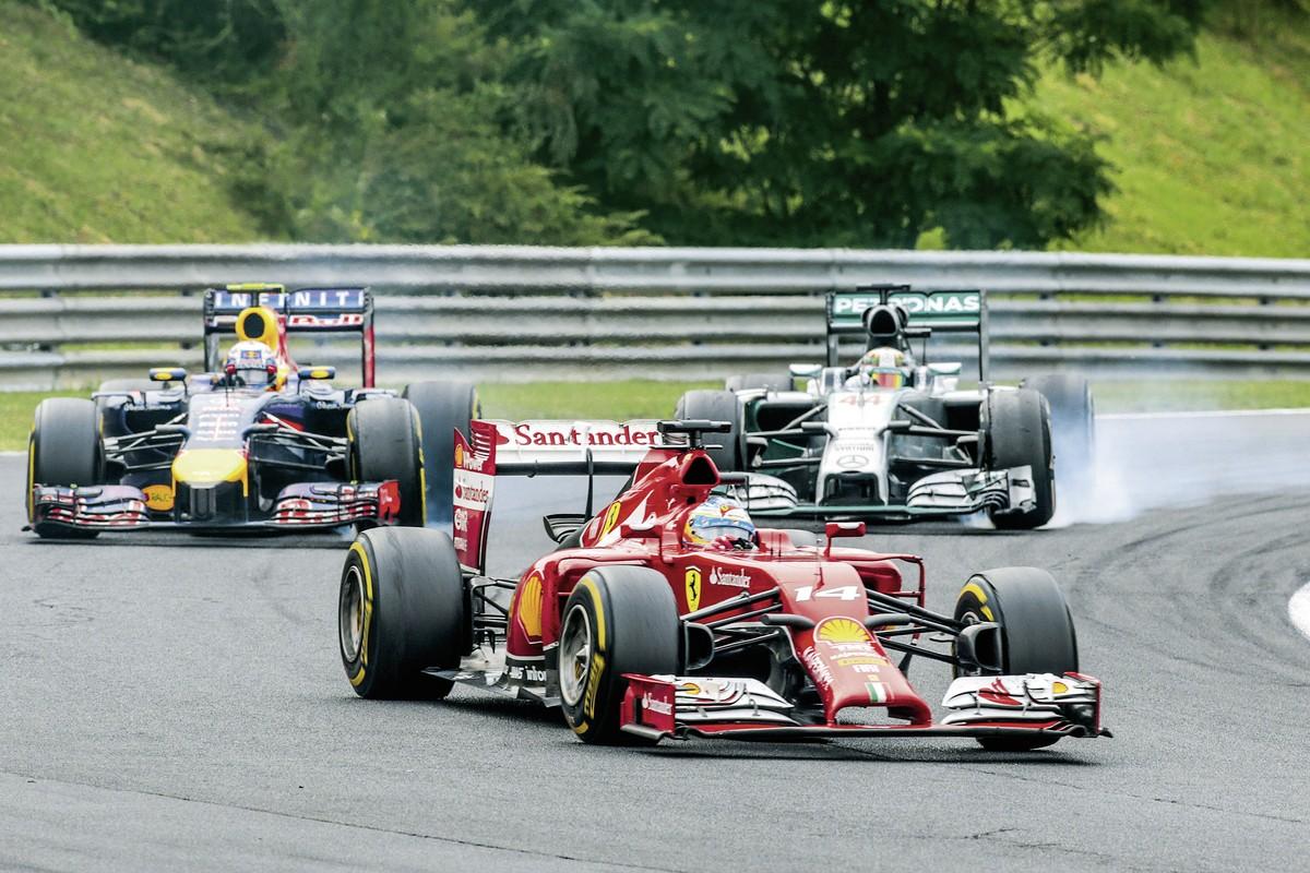 Formel 1 Monaco, Monaco, Bild 1