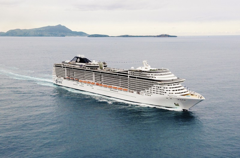 Kreuzfahrt MSC Fantasia: Mittelmeer West, Kreuzfahrt, Genua, Bild 1