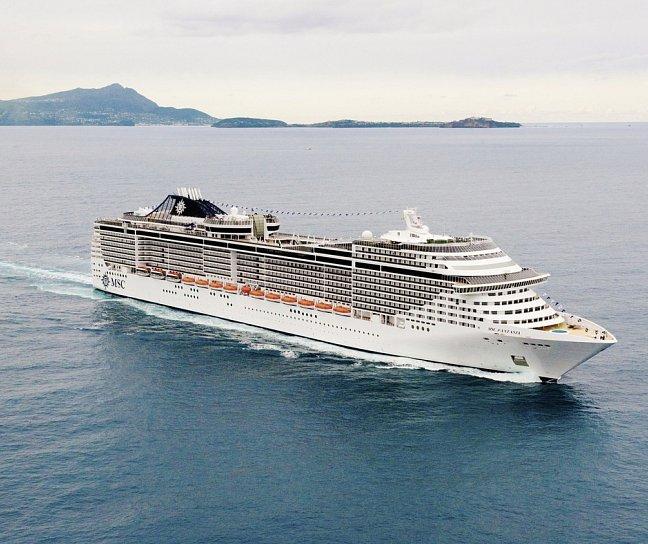 Kreuzfahrt MSC Fantasia: Mittelmeer West, Kreuzfahrt, Bild 1