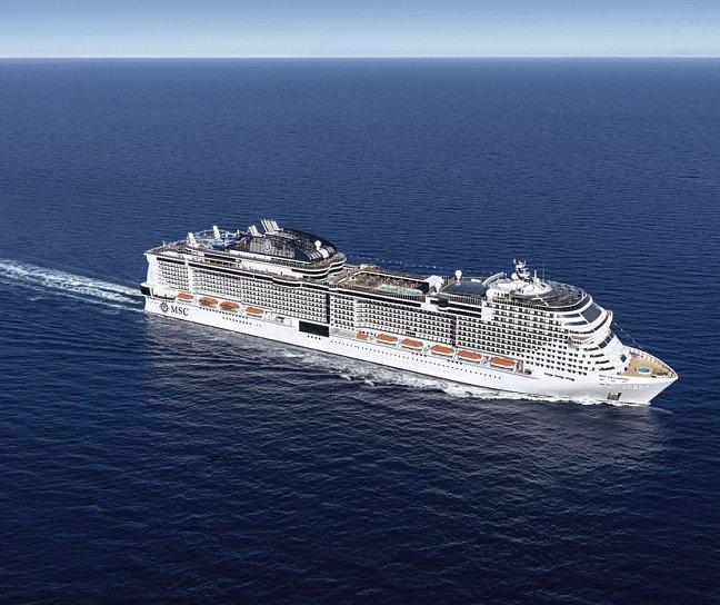 Kreuzfahrt MSC Grandiosa: Transatlantik, Kreuzfahrt, Bild 1