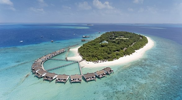 Hotel Reethi Beach Resort, Malediven, Baa-Atoll, Bild 1