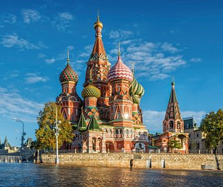 Moskau St. Petersburg Rundreise, Russland, Moskau/St. Petersburg, Bild 1
