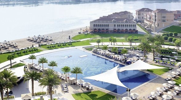 Hotel The Ritz-Carlton Abu Dhabi, Grand Canal, Vereinigte Arabische Emirate, Abu Dhabi, Bild 1