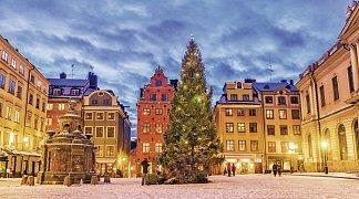 Weihnachtsmarkt Stockholm, Schweden, Stockholm, Bild 1