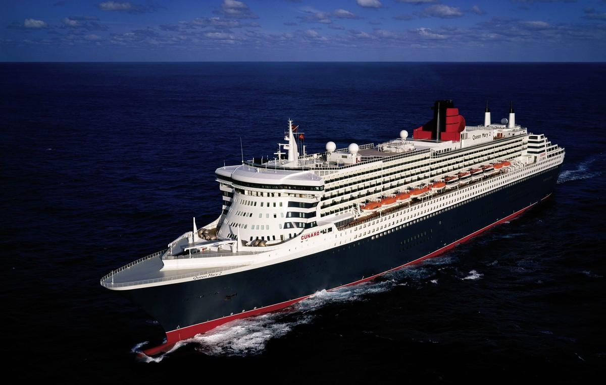 Kreuzfahrt Queen Mary 2: Transatlantik, Kreuzfahrt, Bild 1