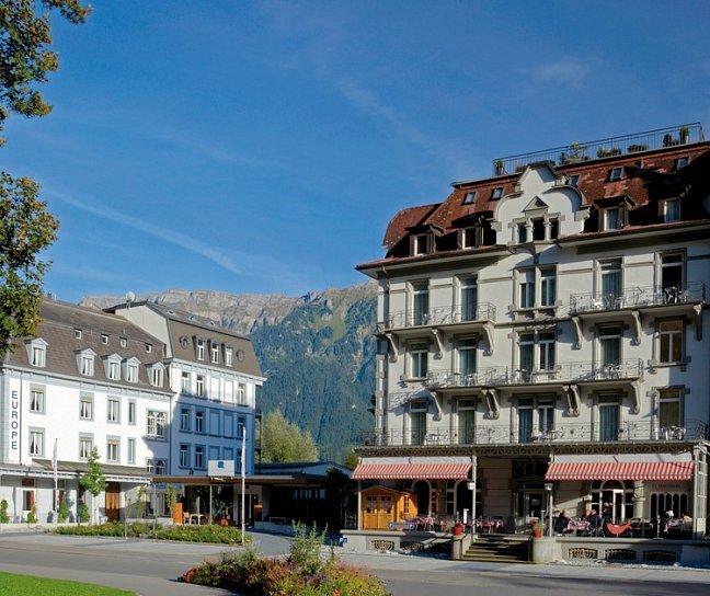 Hotel Carlton-Europe Vintage Erwachsenenhotel, Schweiz, Berner Oberland, Interlaken, Bild 1