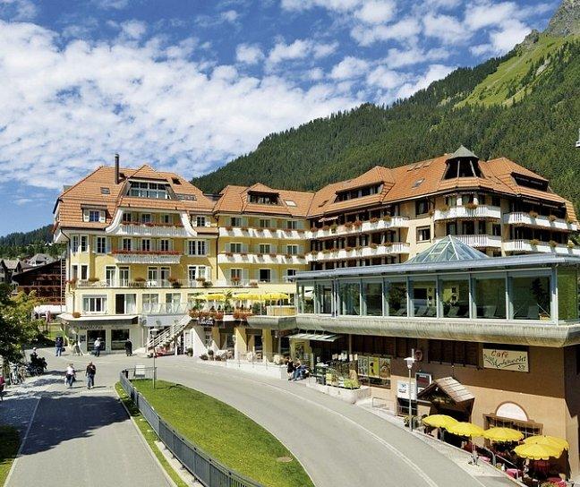 Hotel Silberhorn, Schweiz, Berner Oberland, Wengen, Bild 1