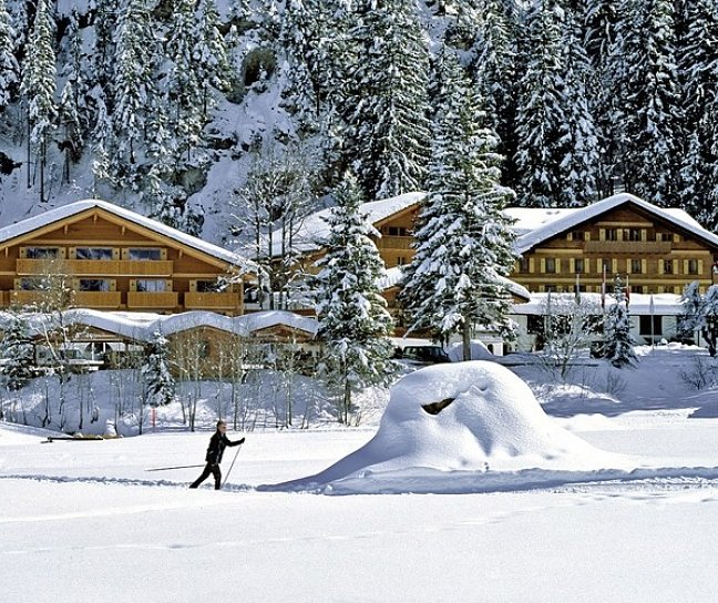 Hotel Relais & Châteaux Waldhotel Doldenhorn, Schweiz, Berner Oberland, Kandersteg, Bild 1