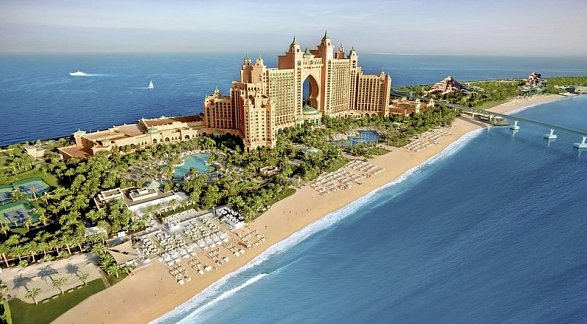 Hotel Atlantis, The Palm, Vereinigte Arabische Emirate, Dubai, The Palm Jumeirah, Bild 1
