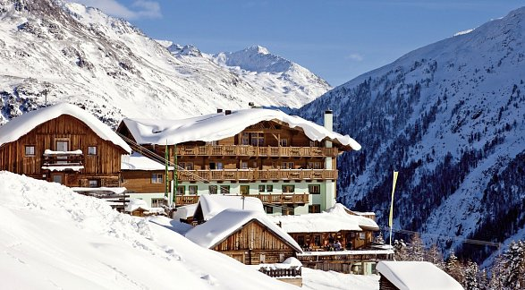 Hotel Alm-Ferienclub Silbertal, Österreich, Tirol, Sölden, Bild 1