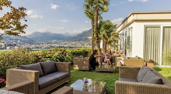 Hotel Suitenhotel Parco Paradiso, Schweiz, Tessin, Lugano, Bild 1