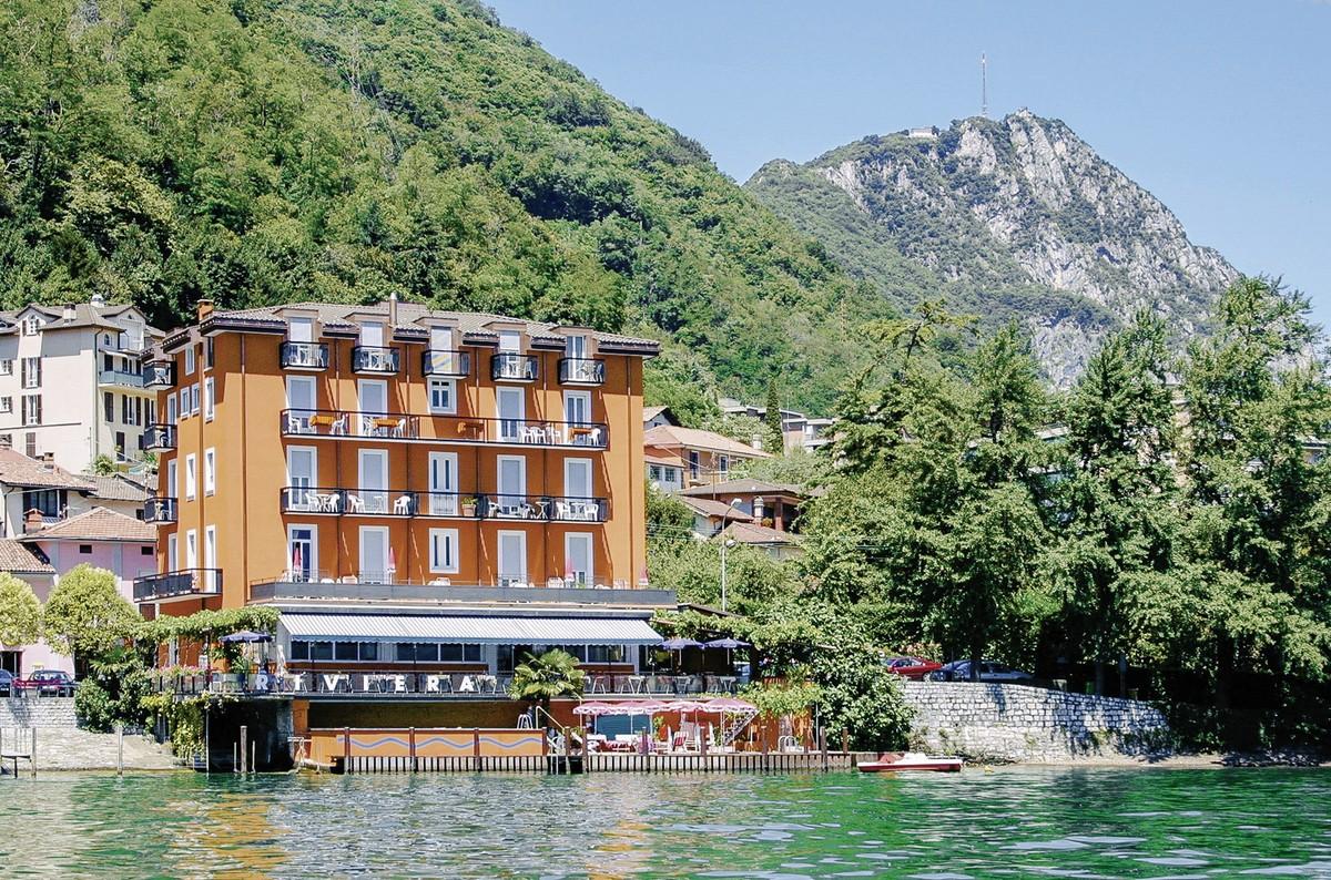 Hotel Seehotel Riviera, Schweiz, Kanton Tessin, Melide, Bild 1