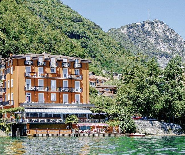 Hotel Seehotel Riviera, Schweiz, Tessin, Melide, Bild 1